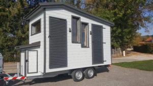 tiny house sauna