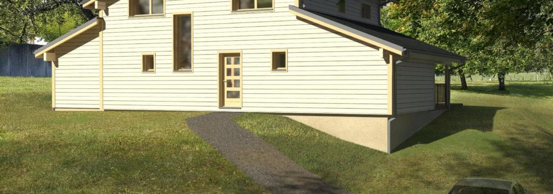 maison en bois doubs